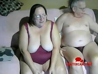 Бабушка с дедушкой интим видео